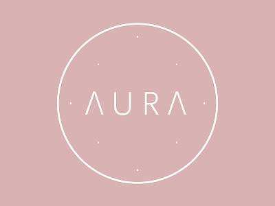 Aura Nights vector logo design branding 2d