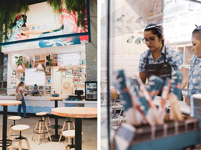 Lulupok Restaurant poke bowl hawai restaurant branding branding restaurant