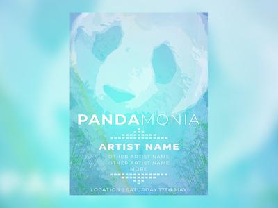 Pandamonia Event Poster
