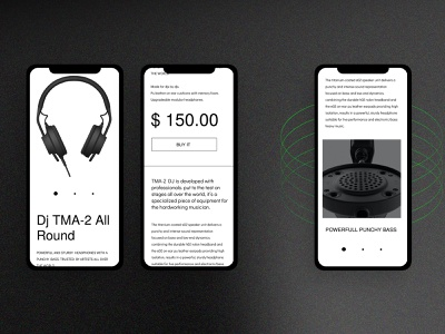 Music Store shopify ecommerce theme design theme website typography ux ui
