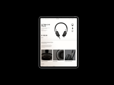 Product page ecommerce ui ux website shopify
