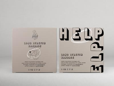 Help Help branding packagedesign