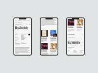 Fonts in use redesign concept redesign website ui typography ux