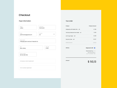 Checkout screens forms checkout checkout form web minimal ui design