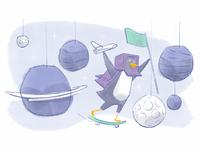 Curio Learning App Illustration