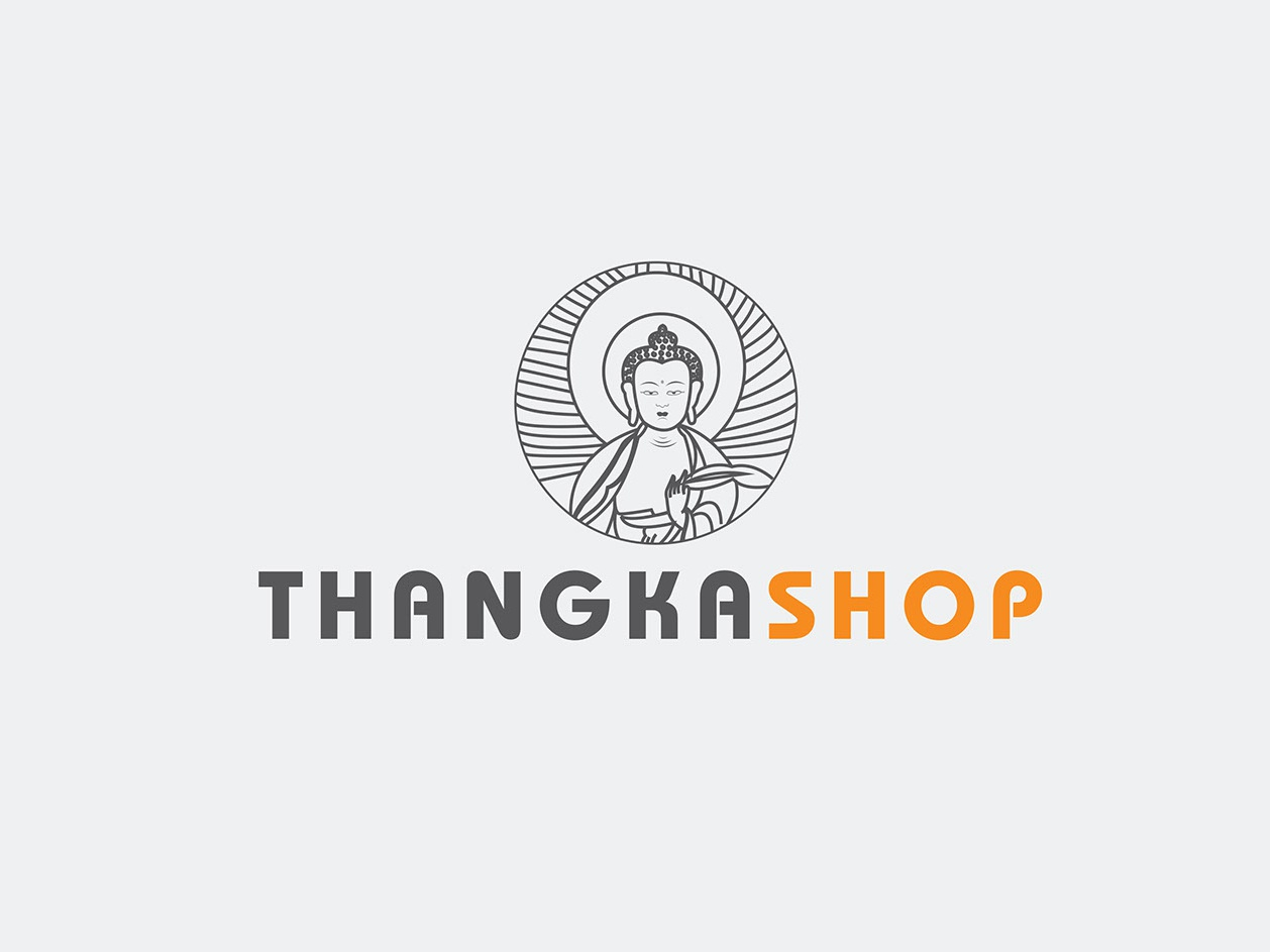 Logo Design buddhism logo illustration logo design branding graphic design