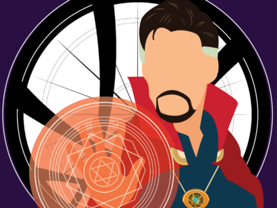 A small illustration of Doctor Strange