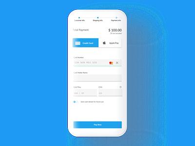 Credit Card Checkout - Daily UI 002 ui design dailyuichallenge dailyui
