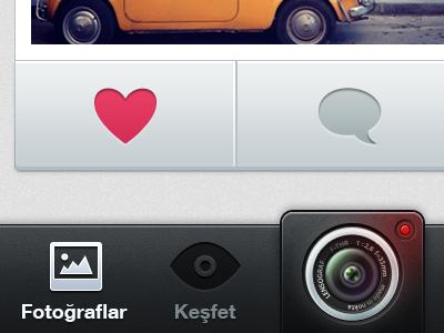 Photo Stream ios app application iphone mobile icon photo stream filter frame crop dark instagram ux design ui design user interface design ui ux interface
