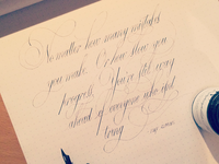 Calligraphy Quote