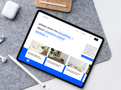 Webdesign scandinavian style business desktop digital blue scandinavia ui uidesign interface uxui ux designer website inspiration design web webdesign