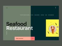 Seafood Restaurant Webdesign