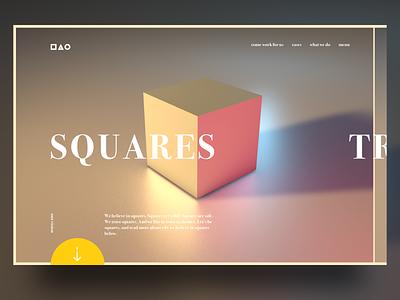 Basic shapes webdesign web design uidesign ux interface interfacedesign cinema 4d 3dart 3d cinema4d digitalart ui webdesigner web triangle squares circles webdesign