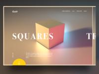 Basic shapes webdesign