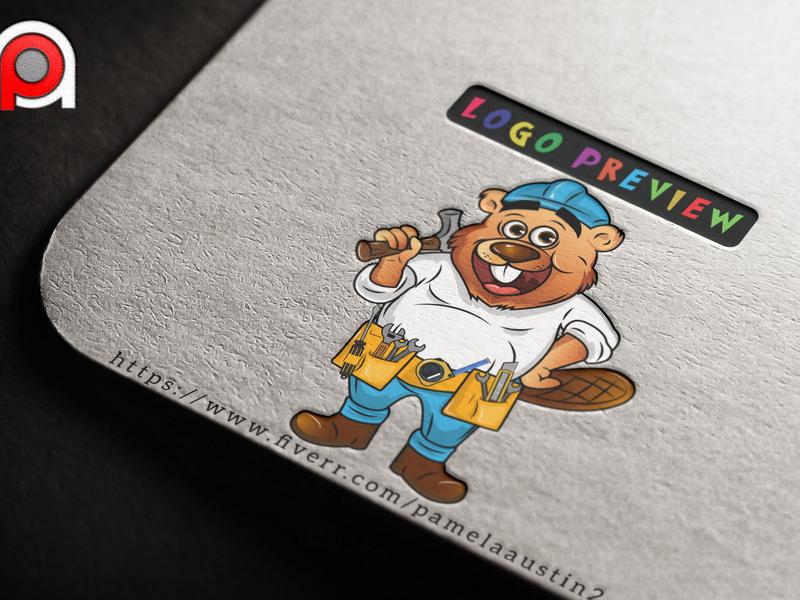 Awasgt caricature animation vector mascot logo logo illustration graphic  design design character cartoon
