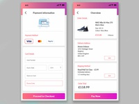 Daily UI Challenge #002 - Checkout Screen