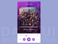 Music app concept dailyui009 daily ui 009 dailyui 009 music player music spotify app designer design appdesign ui gradient daily ui challenge visual design userinterfacedesign uidesign dailyui