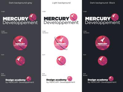Mercury developpement Logo
