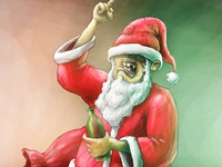 Santa is Drunk. Again.