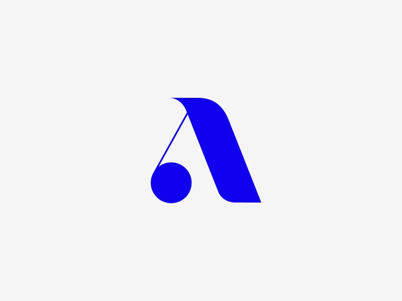 A 36daysoftype lettering type symbol mark a letter typography