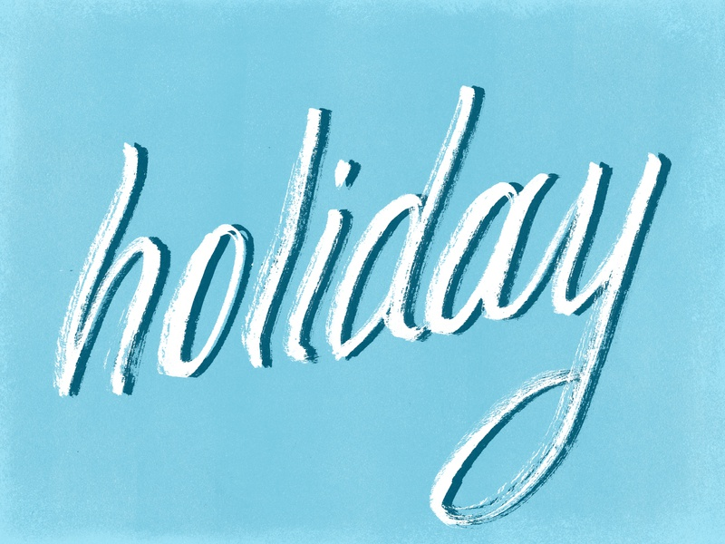 Holiday shadow texture brush pen pentel calligraphy custom script illustration hand lettering type lettering typography