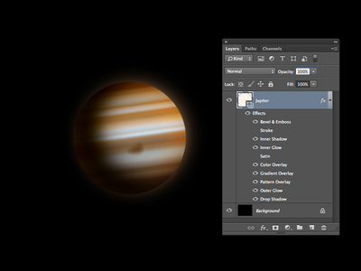 One Layer Style - Jupiter