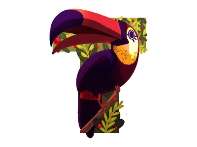 T Is For Toucan