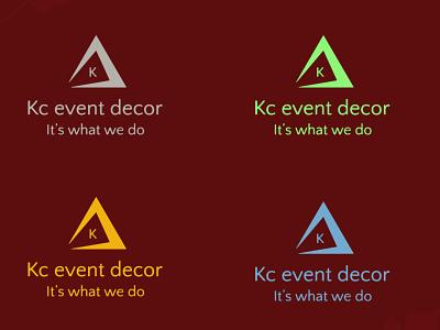 Event Decor Business Logo website motion graphics web flat eventdecorlogo businesslogo ui logo-design graphic design minimal vector design logo graphicdesigners illustration branding