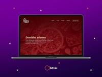 Pizza Antonia webdesign
