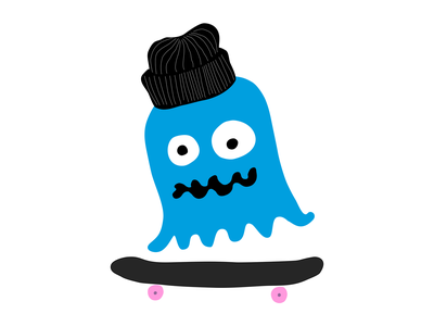 Jelly Skate skateboarding vector design drawing art illustration