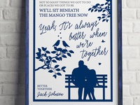 Wedding Song Lyrics Poster