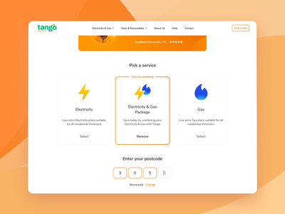 Energy Packages figma concept products packages design web design ui