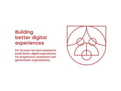Pug Layout (WIP) geometric illustration brand pug dog animals branding grid design web design ui