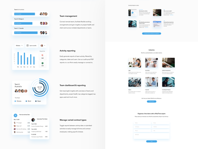 Features Page humaan shadows white graphic design clean web  design features