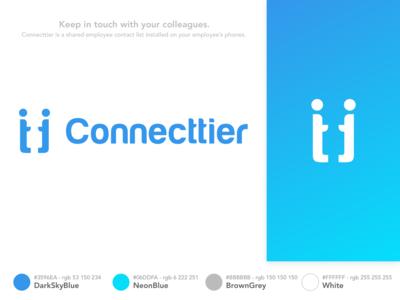Connecttier Logo Design