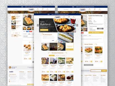 Mado Online Ecommerce Web Site