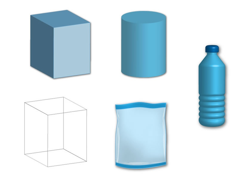 3d Object With Illustrator By Surong Ruan Dribbble