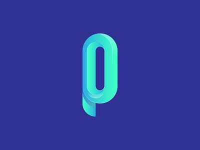 Logo pathfinder gradient