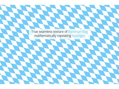 Real seamless lozenges banner wallpaper tile texture pattern oktoberfest blue lozenges bayern bavarian flag bavaria seamless