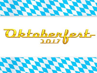 Oktoberfest 2017 stock logo retro invitation pub calligraphy automotive lozenges pattern bavarian event logo gold oktoberfest