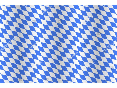 True seamless Bavaria repeating seamless vector waving flag texture pattern bayern münchen oktoberfest lozenges blue bavarian