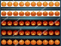 Looped sequences of animated Pumpkins