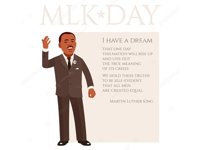 MLK freedom racism rights afro american leader speech orator black male holiday have dream mlk martin luther king
