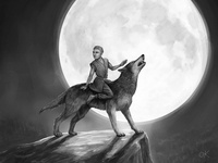 Tengri Wolf Rider