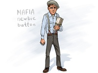 Mafia newbie 'button'