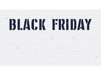Black Friday. Vector template