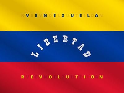 Venezuela now latin america hispanic political image breaking news banner icon vector idea concept tricolor flag libertad revolution revolt rebellion riot freedom venezuela
