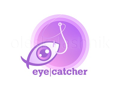 Eye-catcher. Vector sign of clickbait phishing bait fake news click clickbait fraud internet false caption attention attract teaser sticker viral thumbnail link online quirky marketing strategy