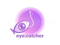 Eye-catcher. Vector sign of clickbait