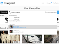 Curated Craigslist Redesign